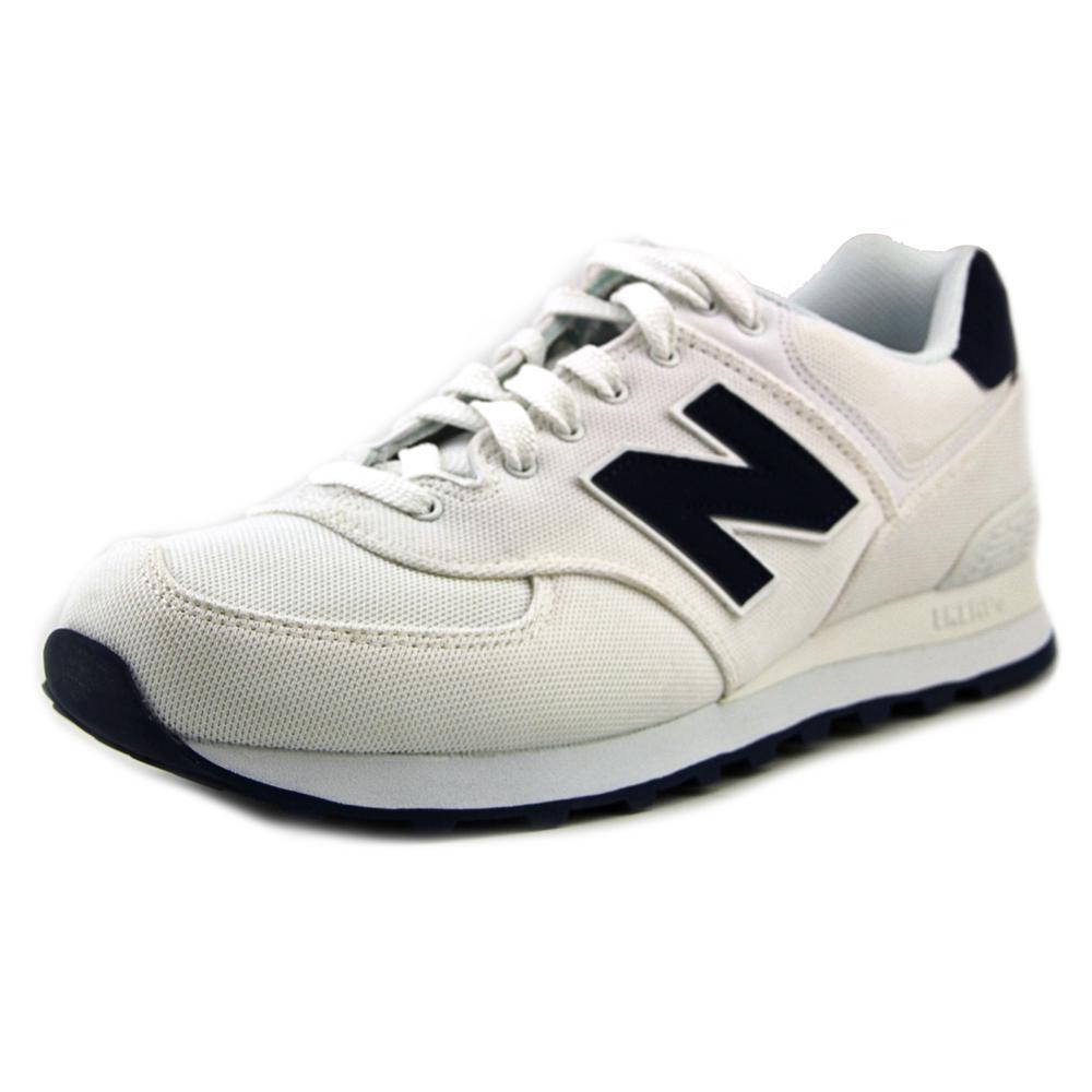 new balance ml574 b toe canvas basketball shoe