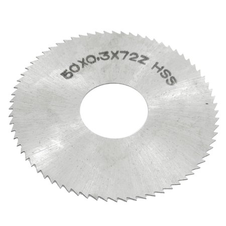 Unique Bargains 16mm Arbor Hole Dia 0.3mm Thick 72 Teeth HSS Slotting Saw