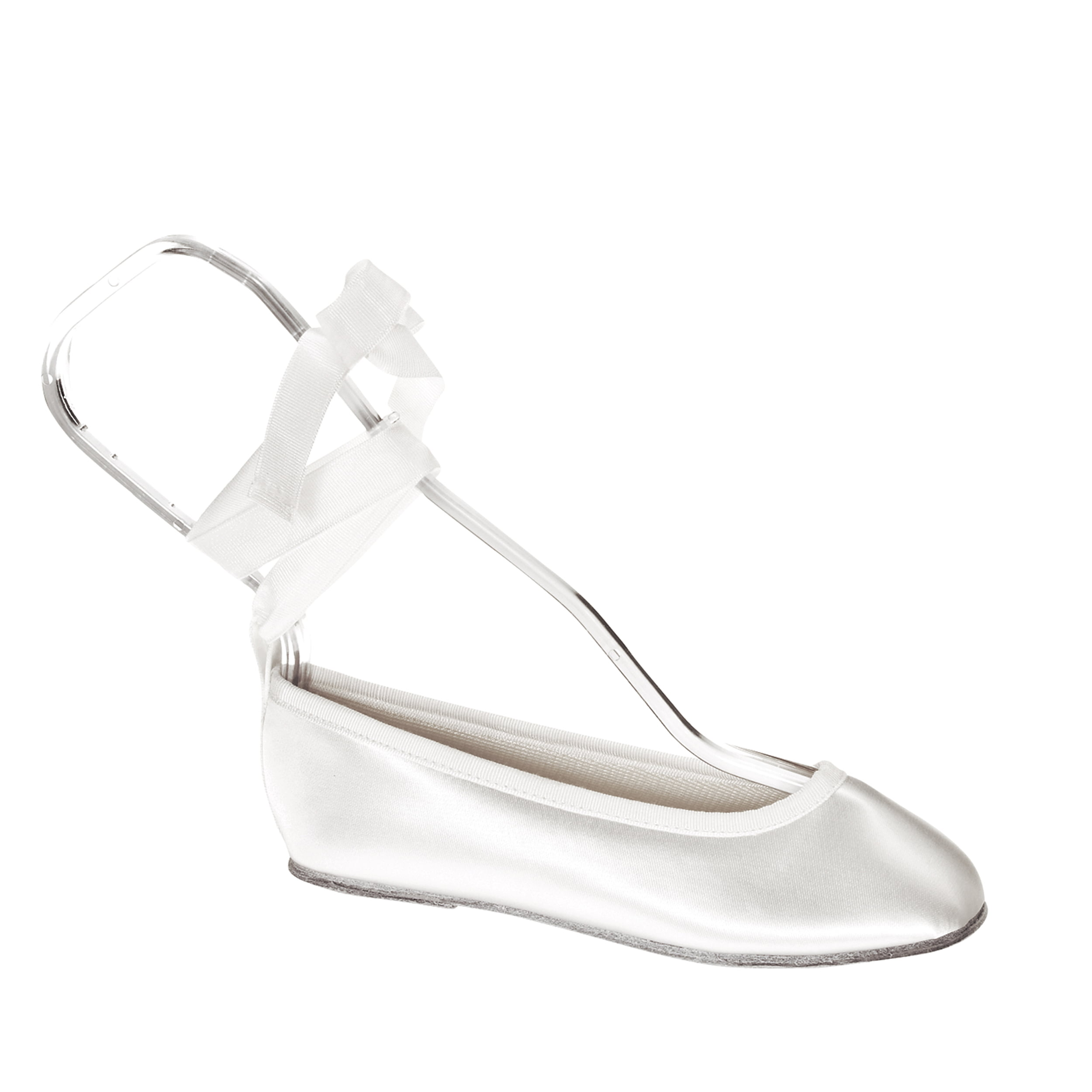 Touch Ups Girls Gypsy Slip-on Shoes,White Satin,3 M by Benjamin Wal