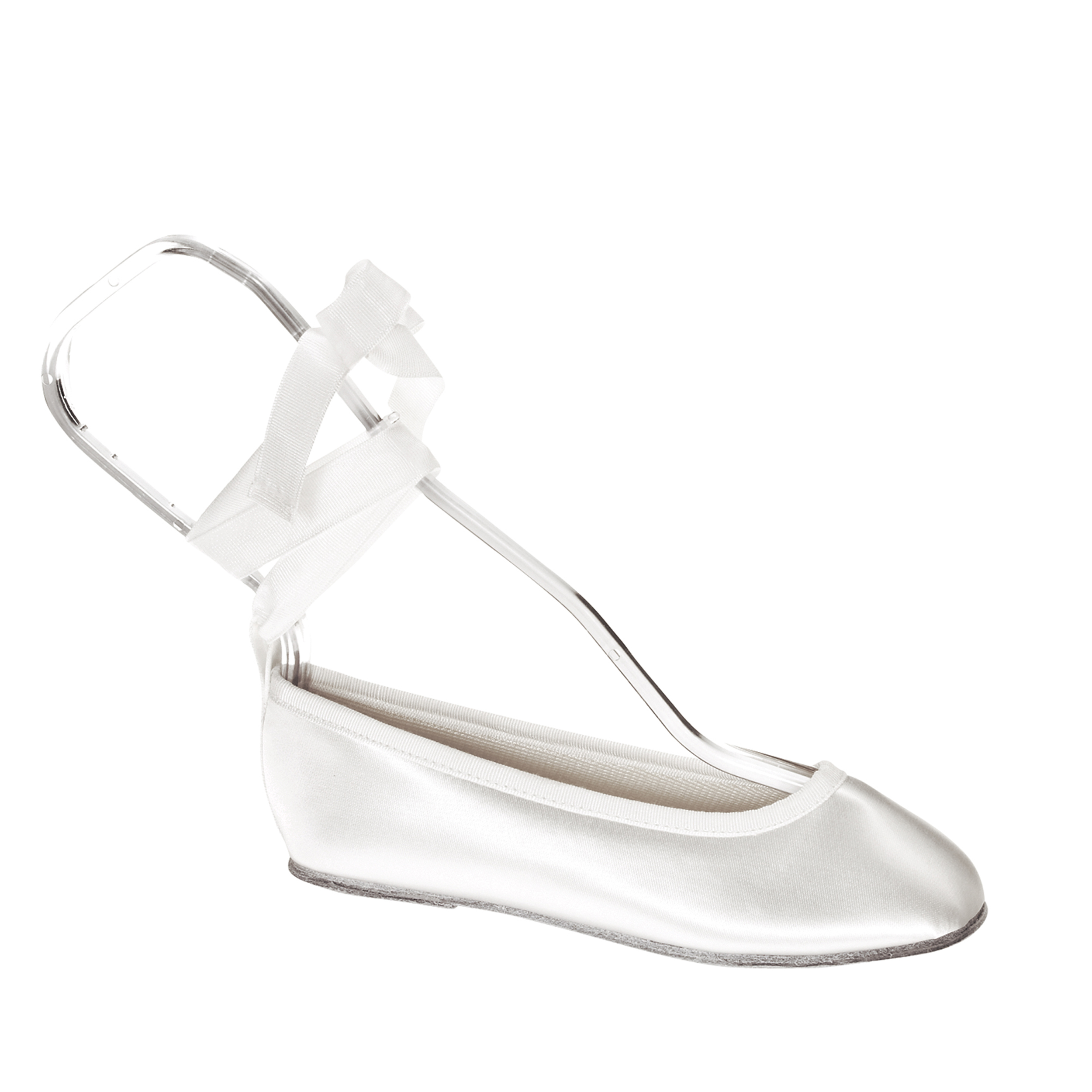 Touch Ups Girls Gypsy Slip-on Shoes,White Satin,10.5 M by Benjamin Wal