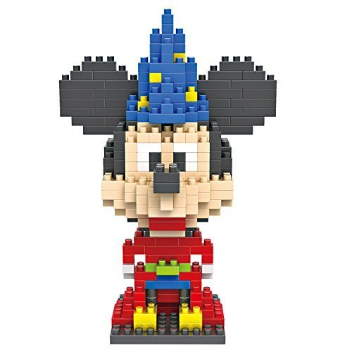 Last Innovation LOZ Diamond Blocks Nanoblock Mickey Mouse Magician Educational Toy 310PCS by Last Innovation