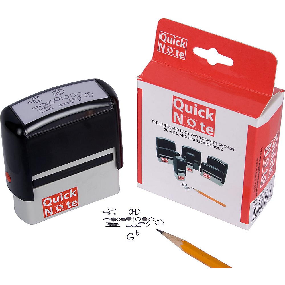 Protec Quick Note Stamp For Woodwinds. Saxophone Fingering Stamp