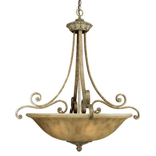 Dolan Designs 821 Six Light Bowl Pendant from the Windsor Collection