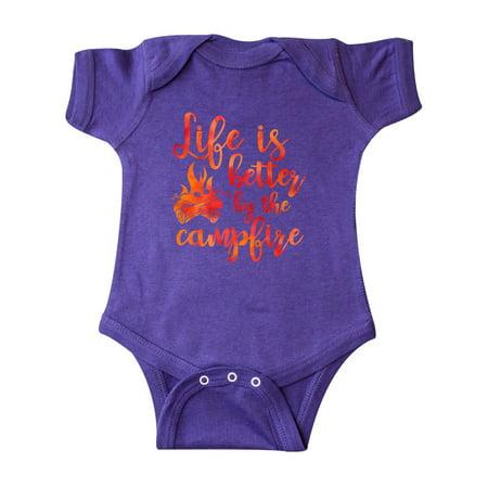 5cf5efbc3a64 Life s Better Campfire Infant Creeper - Walmart.com