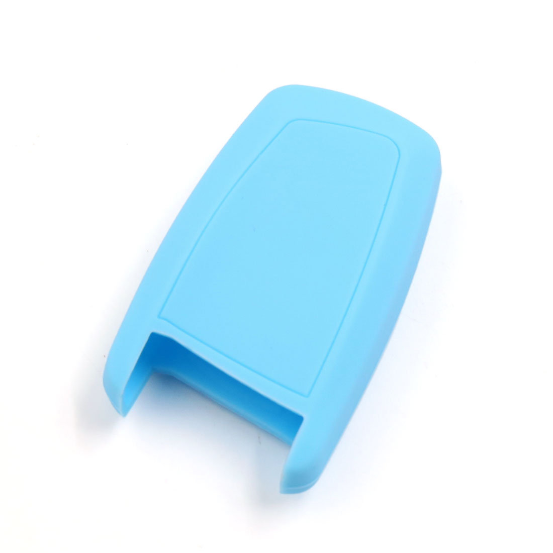 Light Blue Silicone Car Remote Flip Key Cover Shell Case for BMW 1 3 5 7 Series - image 1 of 3