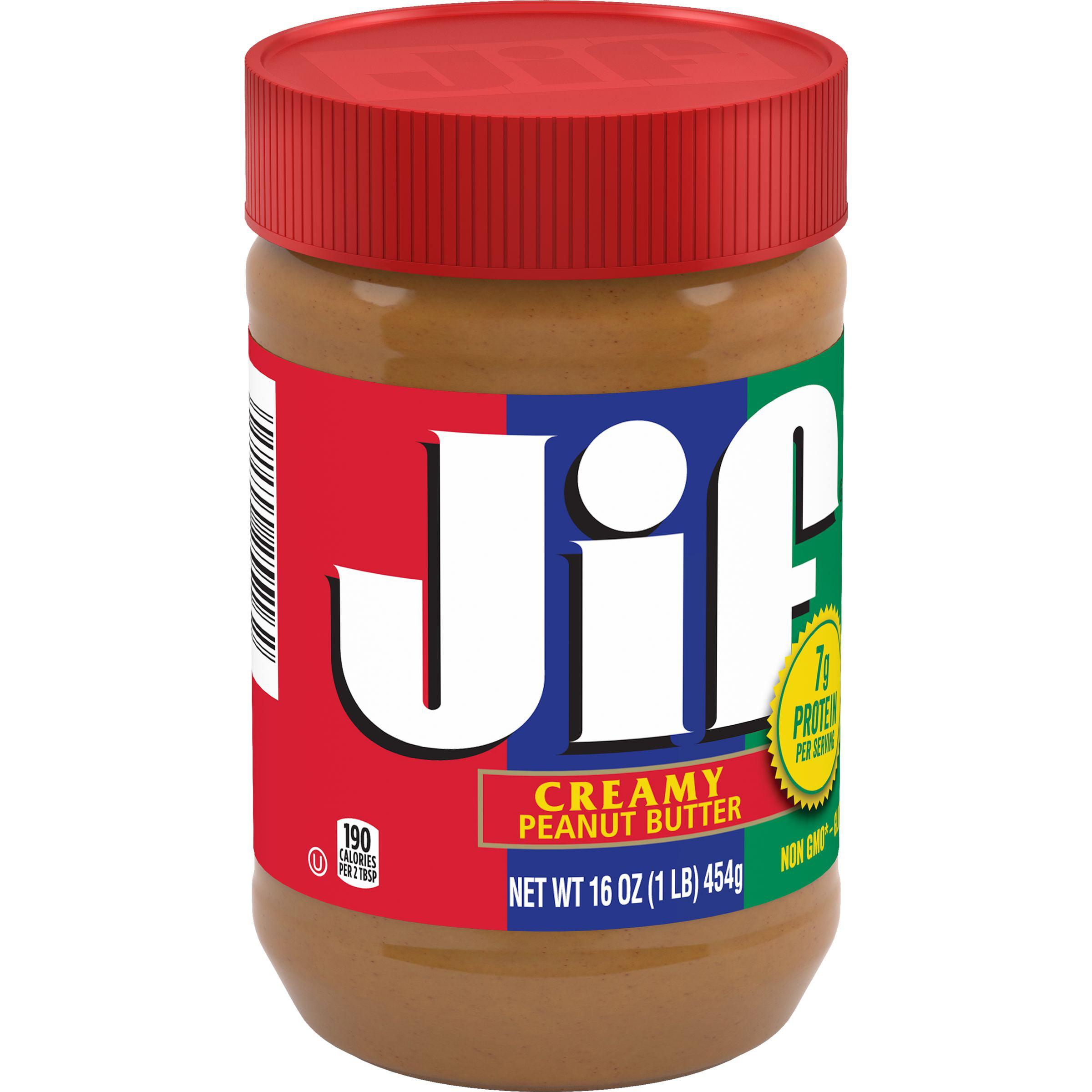 Jif Creamy Peanut Butter, 16-Ounce
