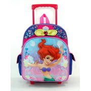 Small Rolling Backpack - Disney - The Little Mermaid - Music Dance New 617110