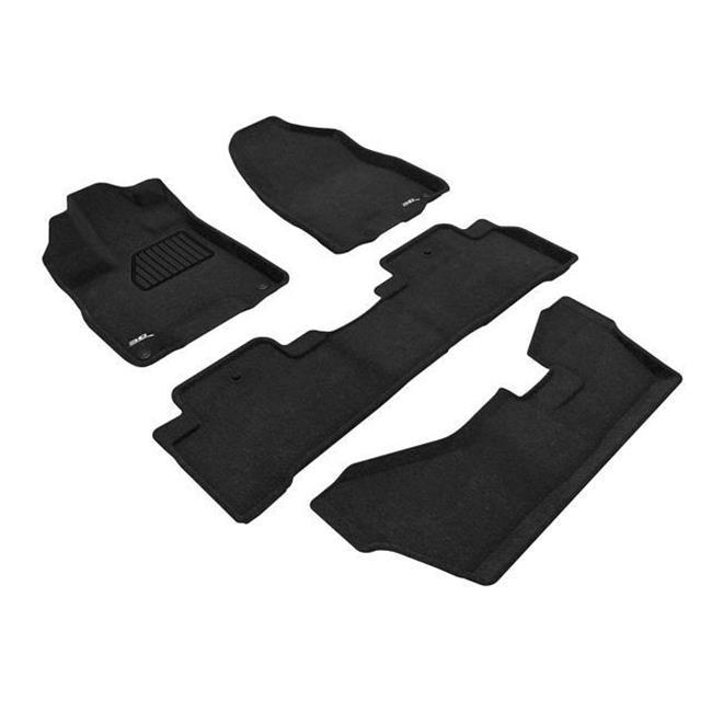 3D MAXpider AC00604609 Elegant 3 Row Floor Mat Set For