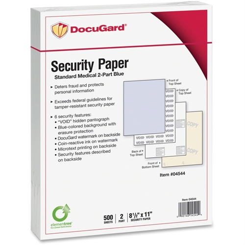 Paris Business Products Security Paper 04544