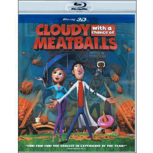 Cloudy With A Chance Of Meatballs (Blu-ray) (3D) (Widescreen)