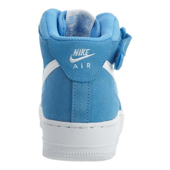 Nike - Nike Air Force 1 MID  07 Men s Shoes University Blue White White  315123-409 (10 D(M) US) - Walmart.com 7399a53945b2