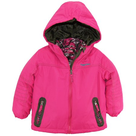 rugged bear little girls 39 systems winter coat with camo. Black Bedroom Furniture Sets. Home Design Ideas