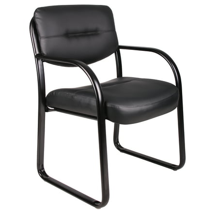 Boss Office Products Black Reception Chair