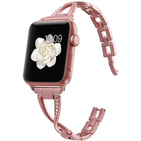 Moretek Apple Watch Band Strap for Apple Series 3, Watch Series 2, Series 1