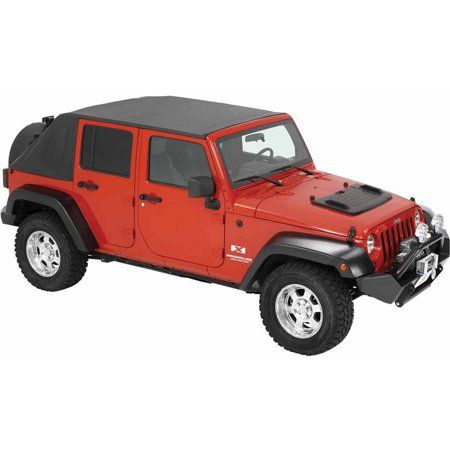 - Bestop 56805-35 Jk Wrangler Unlimited 4-Door Trektop, Black Diamond