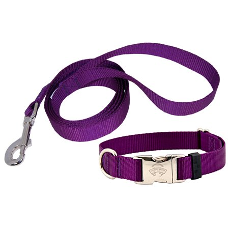 Country Brook Design | Premium Nylon Dog Collar and Leash