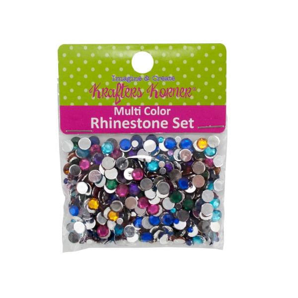 Multi-Color Rhinestone Set (Pack Of 25)