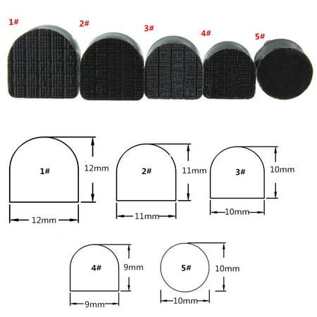 60PCs (5 Different Size) High Heel Shoe Repair Tips Taps Dowel Lifts Replacement Shoe Repair Pin Tips Spike Stiletto Repair Heel Caps Kit - image 8 of 9