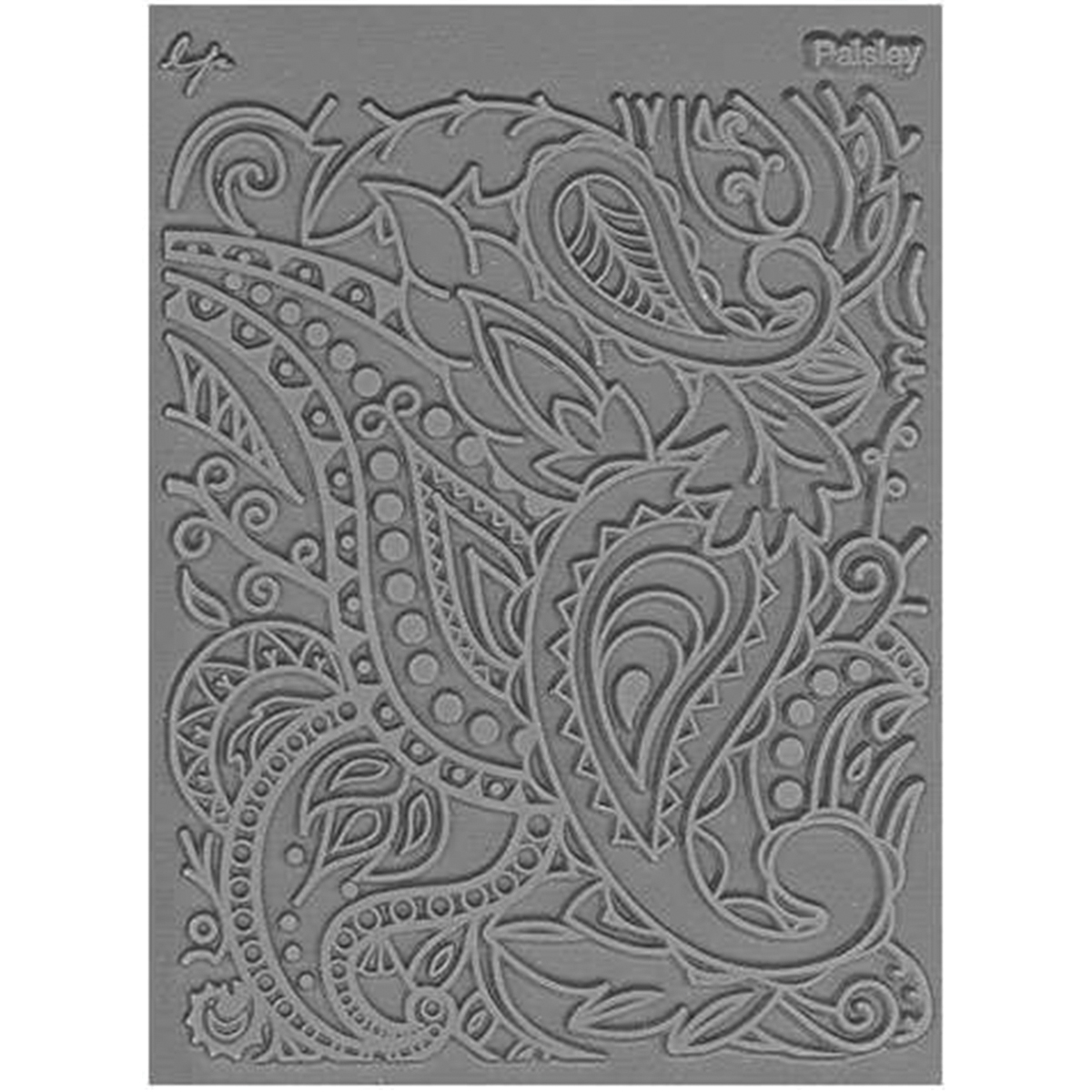 Fossillicious Great Create Christi Friesen Texture Stamp 4.25 x 5.5-inch