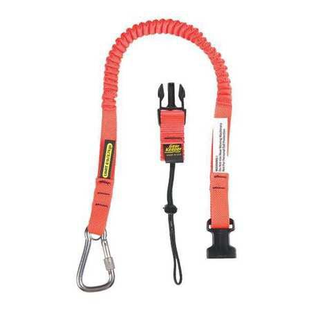 Tool Lanyard,46inL,5lb,Single Carabiner GEARKEEPER TL1-3022