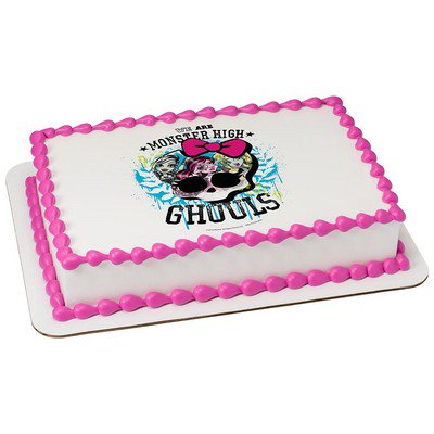 Pleasant Monster High Ghouls Cake Decoration Edible Frosting Photo Sheet Funny Birthday Cards Online Barepcheapnameinfo