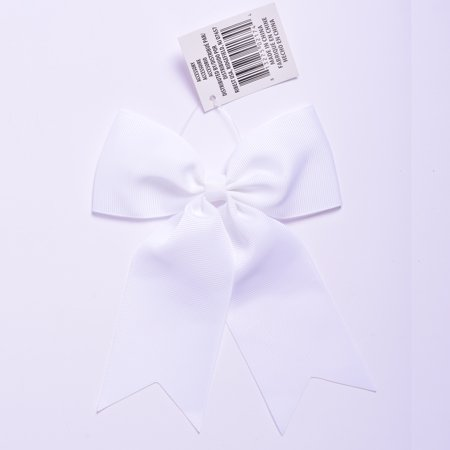 Yama Ribbon White Grosgrain Bow Tail, 1 Each - Large Ribbon Bows