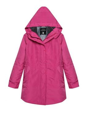 0498e985 Product Image Women Winter Jacket Front-Zip Hooded Parka Coat Outdoor  Waterproof Jacket