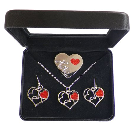 Valentines Day  Love Of My Life  Heart Gift Set