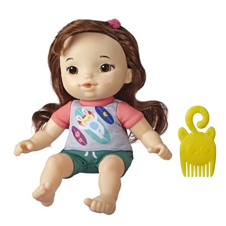 "Littles by Baby Alive, Littles Squad, Little Maya, 9"" Doll, Includes Comb"