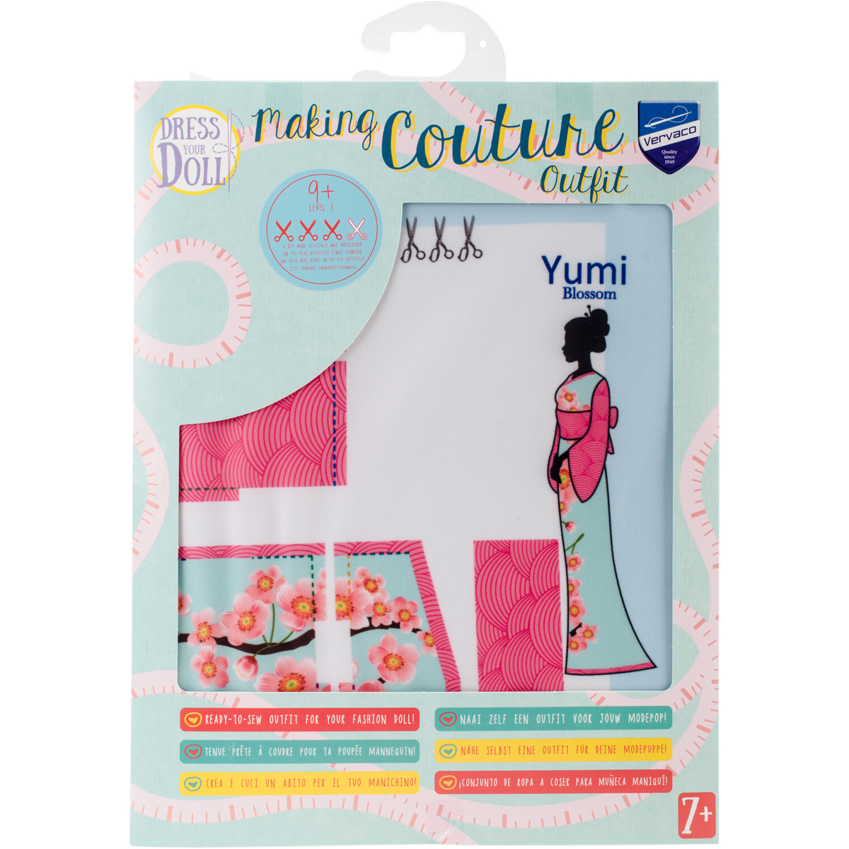 Dress Your Doll Making Couture Outfit Set-Yumi Blossom - image 1 de 1