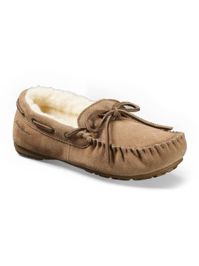 Eddie Bauer Women's Shearling-Lined Moccasin Slipper