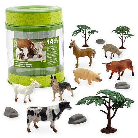 Animal Planet Farm Bucket     By Toys R Us Ship From Us