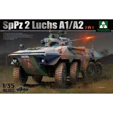 1/35 SpPz2 Luchs A1/A2 Bundeswehr Recon Vehicle (2 in 1) - image 1 of 1