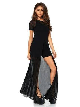 a463bee4a09 Product Image Women s Sheer Mesh High Slit Long Dress