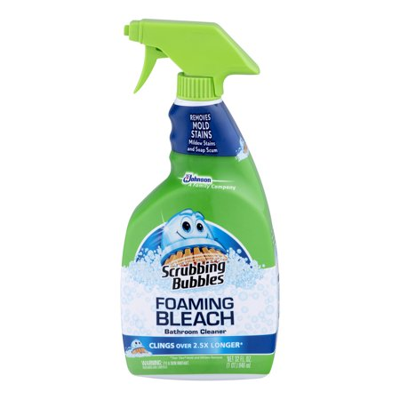 Scrubbing Bubbles Foaming Bleach Bathroom Cleaner 32 0 Fl Oz