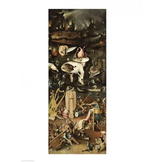 Posterazzi BALXIR259711LARGE The Garden of Earthly Delights C.1500 Poster Print by Hieronymus Bosch - 24 x 36 in. - Large - image 1 de 1