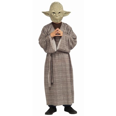 Boy's Deluxe Yoda Halloween Costume - Star Wars Classic