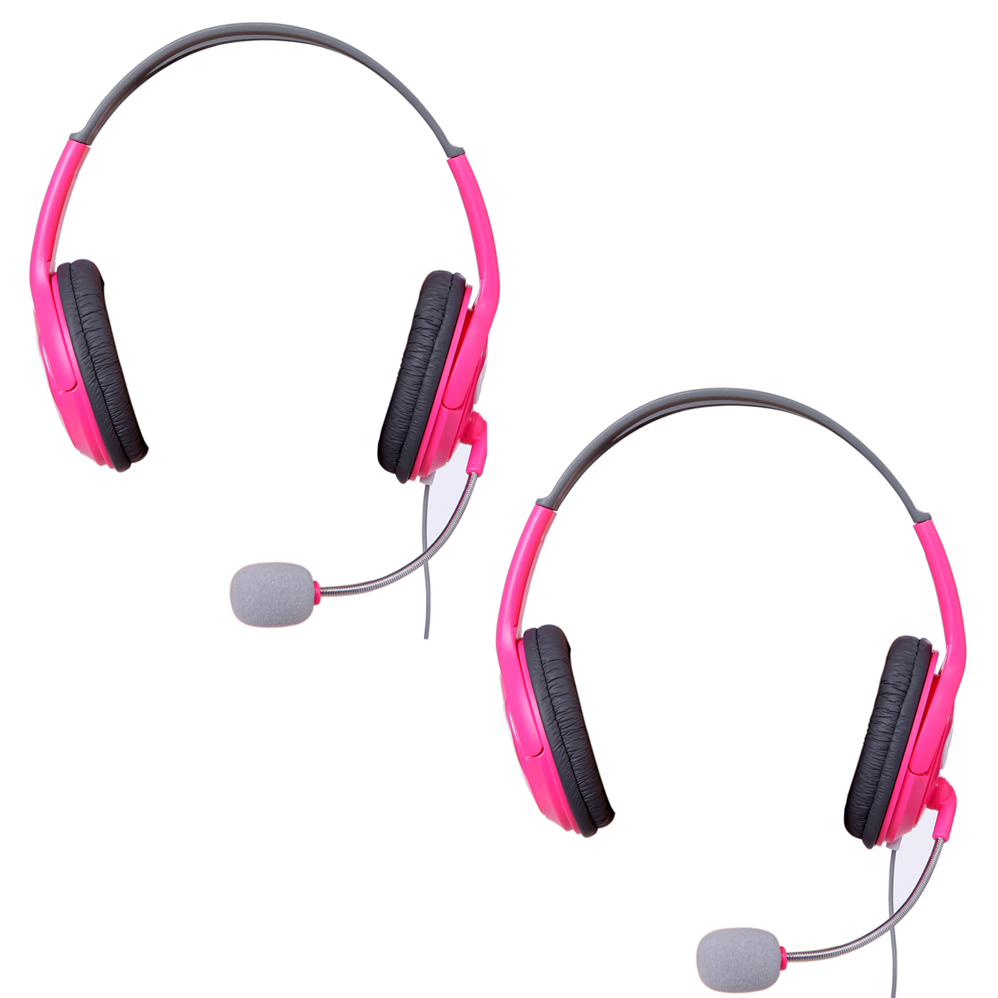 HDE 2-Pack Xbox 360 Gaming Chat Headset with Microphone for Xbox Live - Green