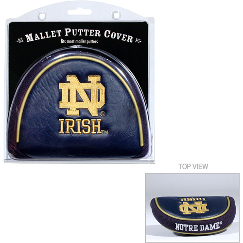 Team Golf NCAA Notre Dame Golf Mallet Putter Cover