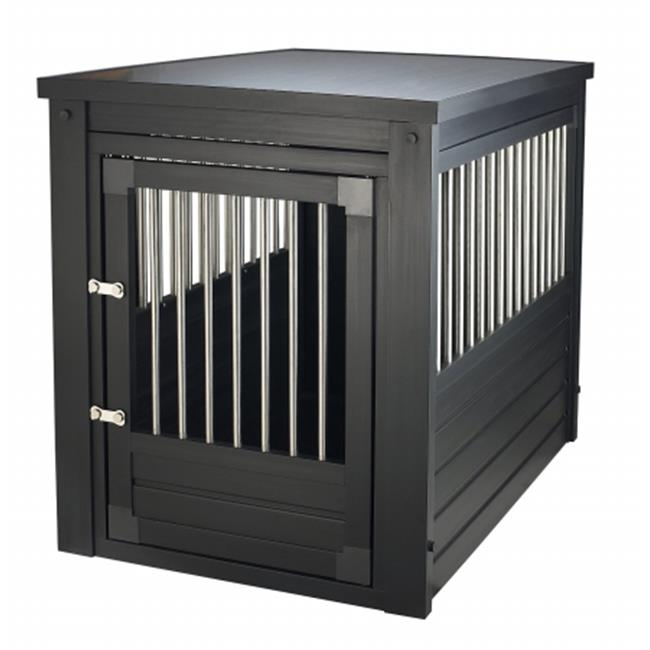 New Age Pet EHHC402XL Eco Habitat N Home Indoor Pet Crate & Table - XL, Espresso