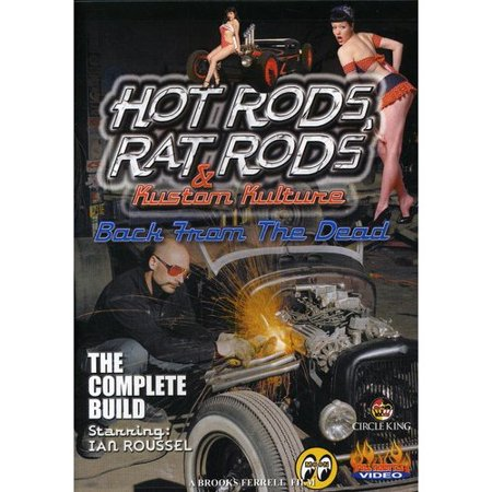 Hot Rods, Rat Rods And Kustom Kulture - Back From The Dead - Kustom Shop Hot Rod Flatz