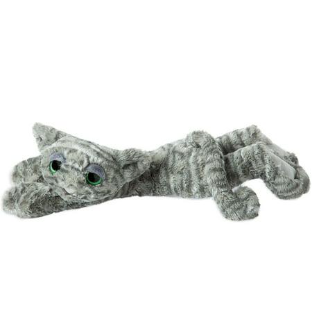 "Best Manhattan Toy Lavish Lanky Cats Slate Grey Shadow 14"" Plush deal"
