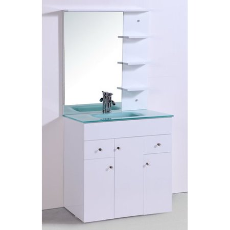 Legion furniture 32 39 39 single bathroom vanity set with - Walmart bathroom vanities with sink ...