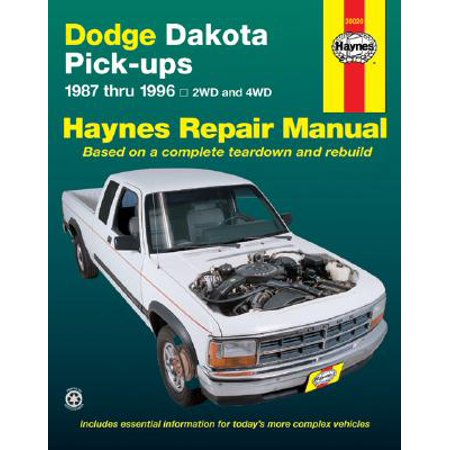 Dodge Dakota Pick-Ups 1987 Thru 1996