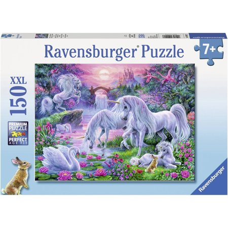Best Ravensburger Unicorns in the Sunset Glow 150 Piece Puzzle deal