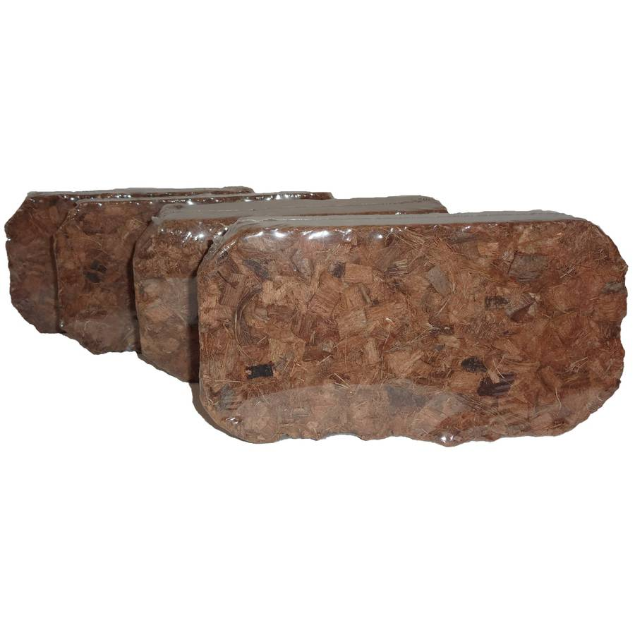 Bosmere Coir Chips Brick, Set of 4