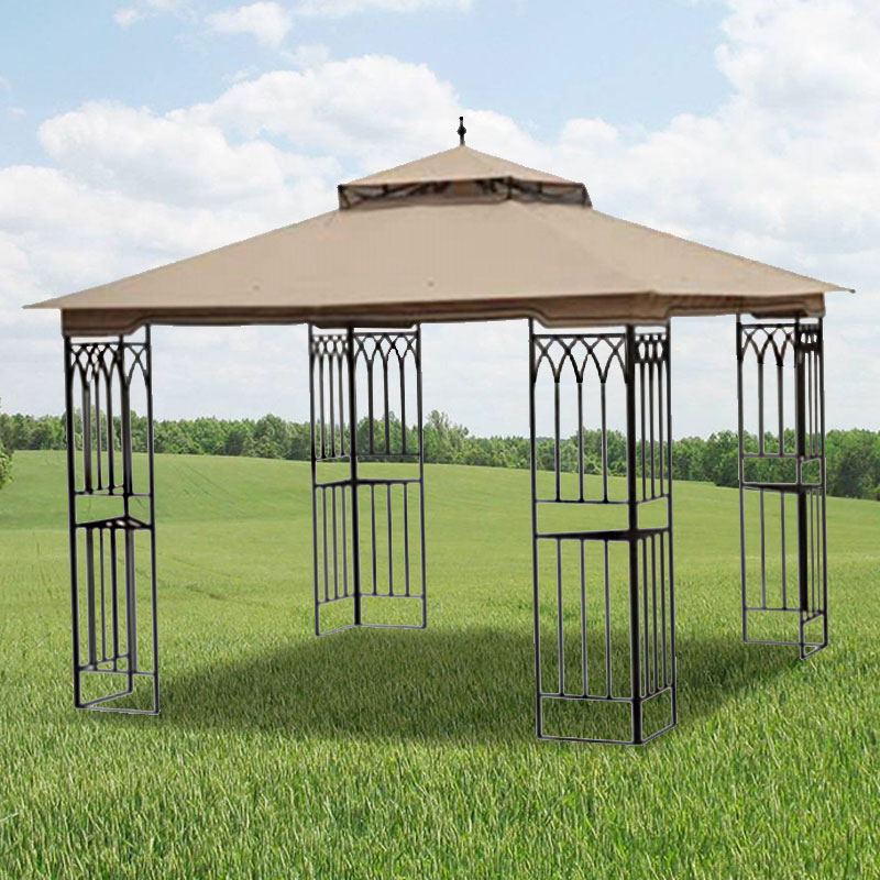 Garden Winds Replacement Canopy Top for True Value Steel Gazebo - Riplock 350