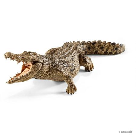 Schleich Wild Life, Crocodile Toy Figure