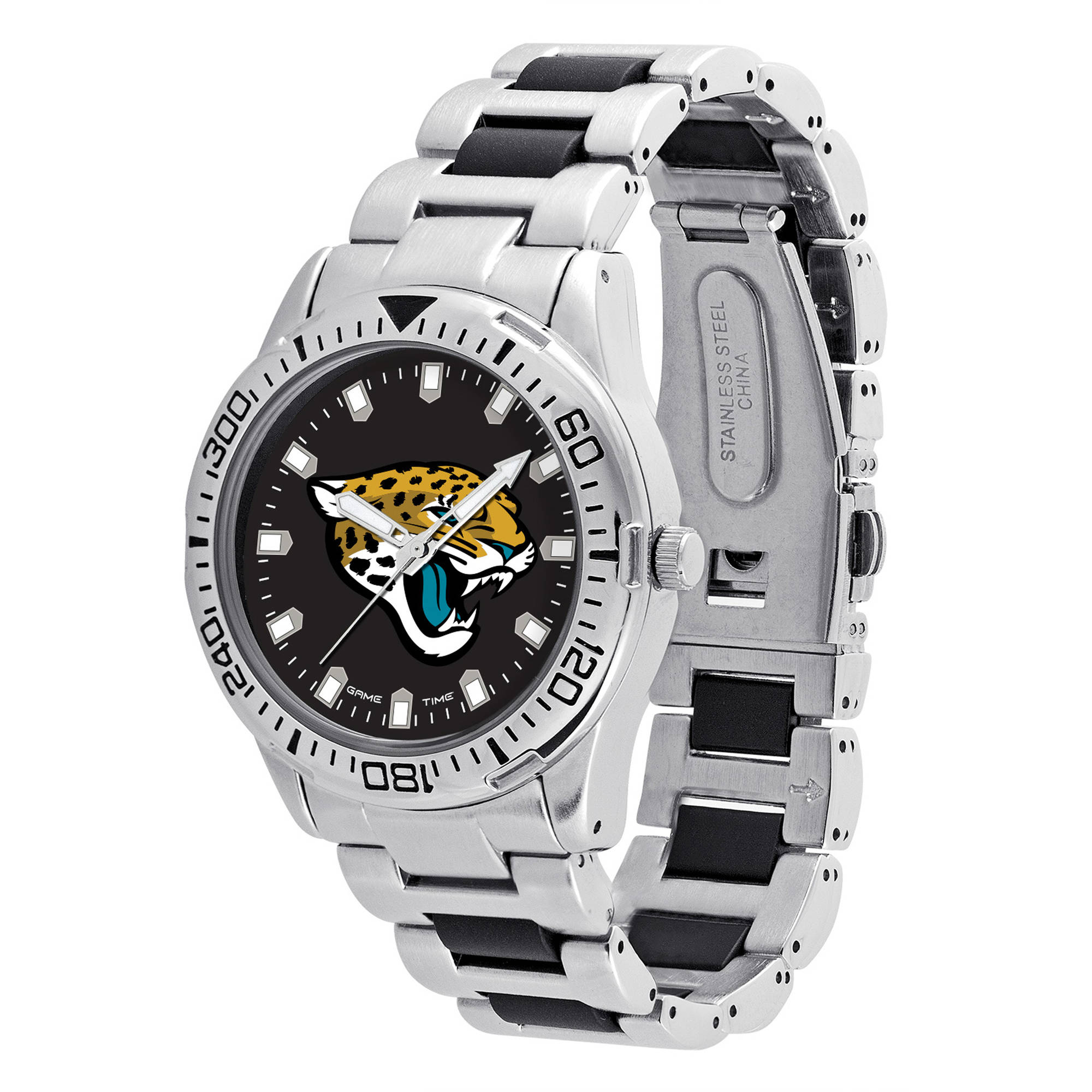 Game Time NFL Men's Jacksonville Jaguars Heavy Hitter Series Watch