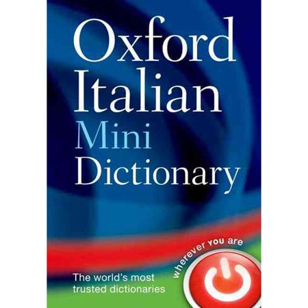 Oxford Italian Mini Dictionary  Italian English  English Italian